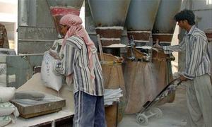 Torkham residents protest flour ban