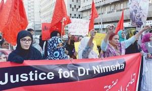 Rights activists demand arrest of Nimrita's killers