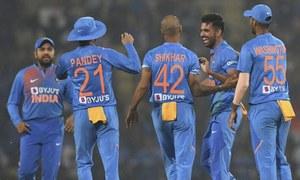 ٹی 20 سیریز: بھارت نے بنگلہ دیش کو شکست دے دی