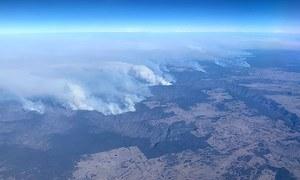 آسٹریلیا کے جنگلات میں آتشزدگی سے 150 گھر خاکستر، فائر ایمرجنسی نافذ
