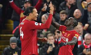 Liverpool beat Man City to boost hopes of historic title triumph