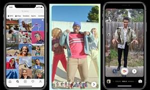 انسٹاگرام اب ٹک ٹاک کو نشانہ بنانے کے لیے تیار