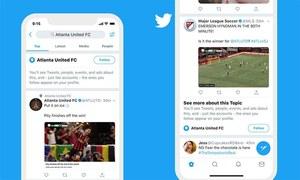 ٹوئٹر میں پسندیدہ موضوعات کو فالو کرنا اب آسان کردیا گیا
