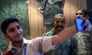 Statue of Indian pilot Abhinandan installed in Karachi's PAF Museum