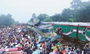 16 dead as trains collide in Bangladesh