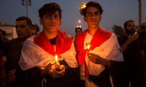 Iraqis aim to rekindle protests with Iran football match