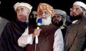 مولانا فضل الرحمٰن کا اسلام آباد دھرنا ختم، نئے محاذ پر جانے کا اعلان