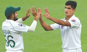 Young Nasim bowls with fire in drawn tour fixture