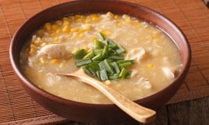 سردیوں کی سوغات 'چکن کارن سوپ'