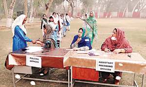 Sahiwal schools go to polls for student councils