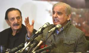 Shahbaz chides Imran for tying Nawaz travel to bonds