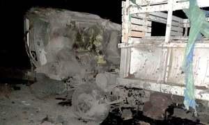 کوئٹہ: ریموٹ کنٹرول بم دھماکے میں 2 سیکیورٹی اہلکار شہید
