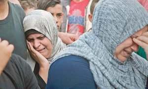 سیز فائر کے باوجود اسرائیل کا پھر فلسطین پر فضائی حملہ