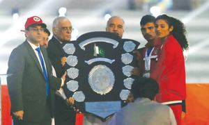 Army retain Quaid-e-Azam trophy with 150 golds at National Games