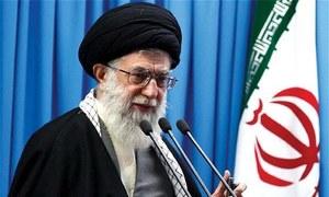 Iran's Khamenei blames enemies for 'sabotage' in gasoline price protests
