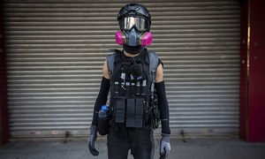 Hong Kong anti-mask law 'unconstitutional': high court