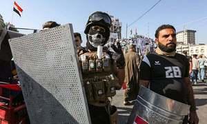 عراق: مظاہرین نے ام قیصر بندرگاہ کا داخلی راستہ بند کردیا