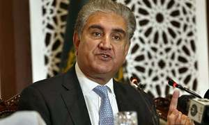 Qureshi again takes up Kashmir issue with UN officials