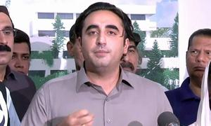 Bilawal unhappy over Sindh cabinet's performance