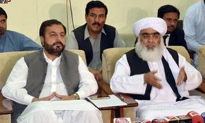 Opposition parties in Balochistan announce Plan C of Azadi march
