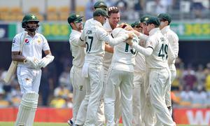 اچھے آغاز کے باوجود برسبین میں پاکستانی بیٹنگ لائن ناکام