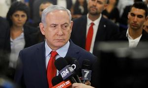 Netanyahu indicted in graft cases
