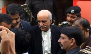 Khursheed Shah's judicial remand extended by 15 days by Sukkur accountability court