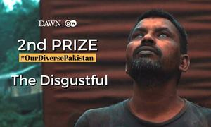 Second Prize: 'The Disgustful' by Waleed Akram, Sheikh Mubashir, Mariam Naqvi, Hammad Javed