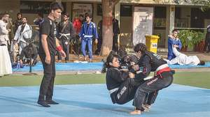Self-defence techniques witnessed in Brazilian ju-jitsu matches