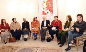 Exhibition, discussion highlight iconic Pakistani women
