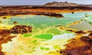 زمین کا وہ مقام جہاں پانی ہونے کے باوجود زندگی موجود نہیں