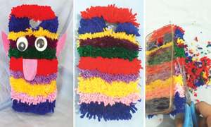 Wonder Craft: Yarn phone case
