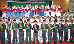 School councils: 4,500 students take oath