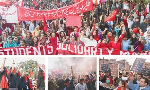 Students across country rally for right to unionise