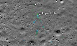 چاند میں گم ہونے والا بھارتی خلائی مشن ناسا نے دریافت کرلیا