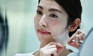 جاپانی کمپنی نے چہرے کا ماسک بنانے والا اسپرے تیار کرلیا