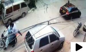 کراچی کے علاقے سمن آباد میں شہری کے ہاتھوں ڈاکو ہلاک