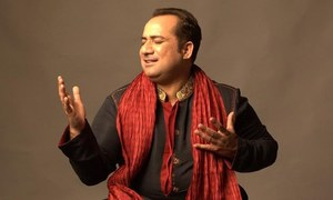 راحت فتح علی خان کو ٹکر دیتے ننھے گلوکار