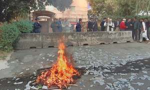 Dawn Islamabad bureau besieged, again