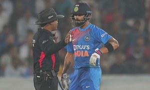 بھارت اور ویسٹ انڈین کے درمیان میچ کے دوران کرکٹ کی نئی تاریخ رقم