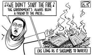 Cartoon: 8 December, 2019