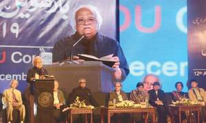 Anwar Maqsood brings the curtain down on Urdu Conference