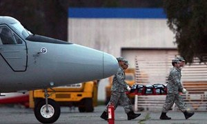 چلی کا فوجی طیارہ انٹارکٹیکا جاتے ہوئے لاپتہ