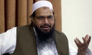دہشت گردوں کی مالی معاونت کے الزام میں حافظ سعید پر فرد جرم عائد