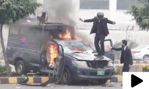 پی آئی سی لاہور میں وکلا کی ہنگامہ آرائی کے دوران 4 مریض جاں بحق