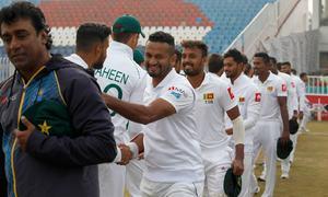 پاکستان میں 10سال بعد ٹیسٹ کرکٹ کی یادگار واپسی