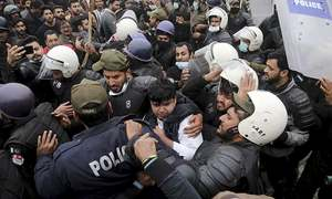 In pictures: Day of terror, violence as lawyers storm Lahore cardiac hospital