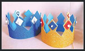 Wonder Craft: Birthday crown