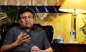 Musharraf urges LHC to stay high treason trial by special court