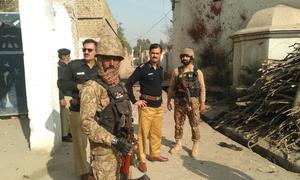 لکی مروت میں خودکش دھماکا، پولیس